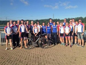 Sheffield Triathlon Club Members and Coaches - Team Photo
