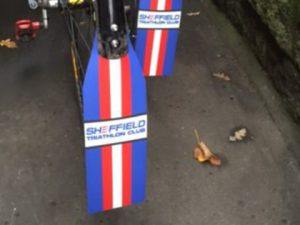 Mud Guard Flaps - Sheffield Triathlon Club